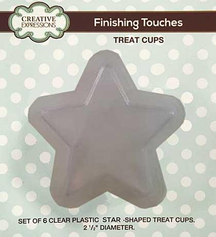 Star Shaped Treat Cups (6 pk)