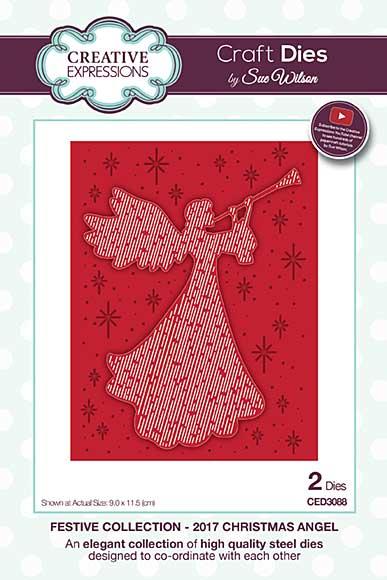 Sue Wilson Festive Collection - 2017 Christmas Angel