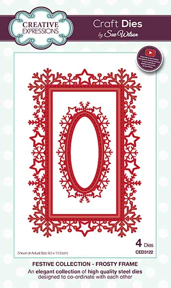 Sue Wilson Festive Collection - Frosty Frame
