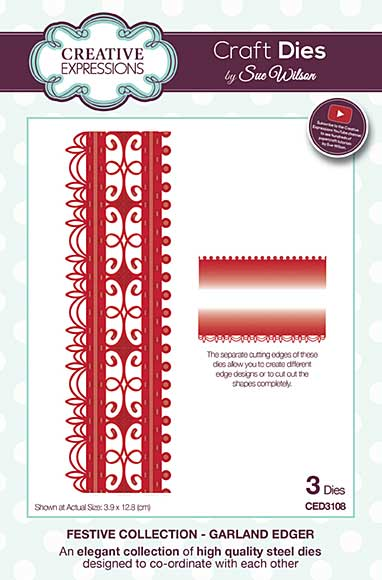 Sue Wilson Festive Collection - Garland Edger