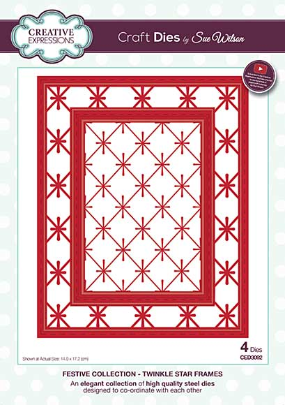Sue Wilson Festive Collection - Twinkle Star Frames