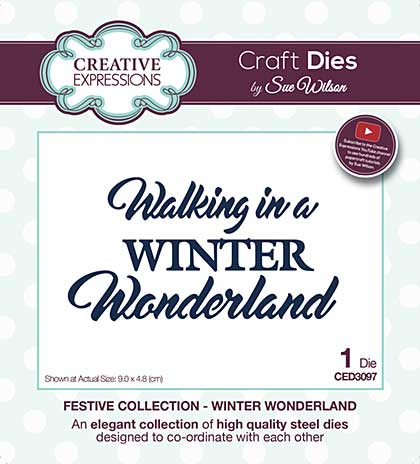 SO: Sue Wilson Festive Collection - Winter Wonderland