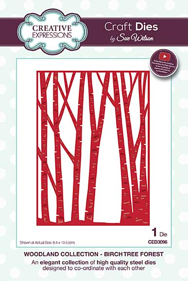 SO: Sue Wilson Woodland Collection - Birch Tree Forest