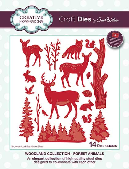 Sue Wilson Woodland Collection - Forest Animals