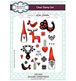 Scandi Christmas A5 Clear Stamp Set