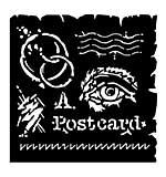 Woodware Stencil - Postcard [WW1801]