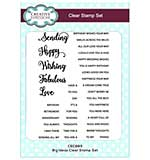 SO: Clear Stamp Sets - Big Ideas Clear Stamp Set