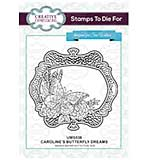 Stamps To Die For - Caroline's Butterfly Dreams Pre cut stamp