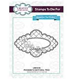 Stamps To Die For - Phoebe's Daffodil Trio Pre cut stamp