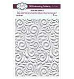 3D Embossing Folder - Sublime Swirls