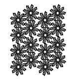 Creative Expressions A5 Stencil Lacy Floral Leaves