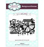 Butterfly A6 Background Stamp
