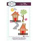 Stitched Collection Quirky House Craft Die