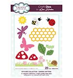 Stitched Collection Garden Critters Craft Die