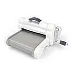 Sizzix Big Shot Plus - A4 Size Die Cutting and Embossing System - Machine and Plates (Gray and White)