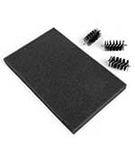 SO: Replacement Foam Mat and 3 x Brush Heads for the Sizzix Die Cleaning Tool (660513)