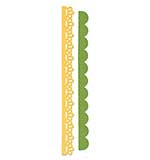 Sizzlits Decorative Strip Die - Eyelet Lace and Scallops by doodlebug design inc