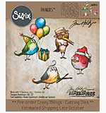 Bird Crazy Things Cutting Dies (33pk), Sizzix Thinlits Dies by Tim Holtz