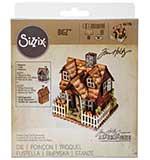 Village Bungalow (Country Cottage) - Sizzix Bigz Die by Tim Holtz