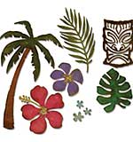 Tropical - Sizzix Thinlits Dies by Tim Holtz (8pk)