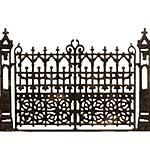 Gothic Gate - Sizzix Thinlits Die by tim Holtz