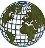 SO: Mini Globe - Sizzix Thinlits Die by Tim Holtz