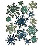 Mini Paper Snowflakes - Sizzix Thinlits Dies by Tim Holtz (23pk)