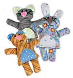 Sizzix Bigz L Die - Bear, Buny, Cat Jennifer Jangles [SZ1701]