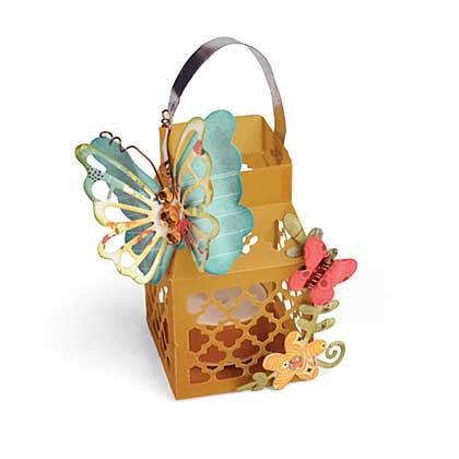 Sizzix Thinlits Die Set 9pk- Butterfly Lantern by Lori Whitlock
