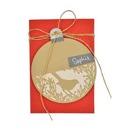 Sizzix Thinlits - Festive Bird