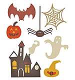 Sizzix Thinlits - Spooky Halloween Set