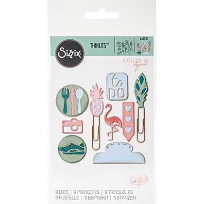 SO: Sizzix Thinlits - Page Planner Icons #2 (9pk)
