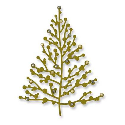 SO: Sizzix Thinlits - Treetops Glisten