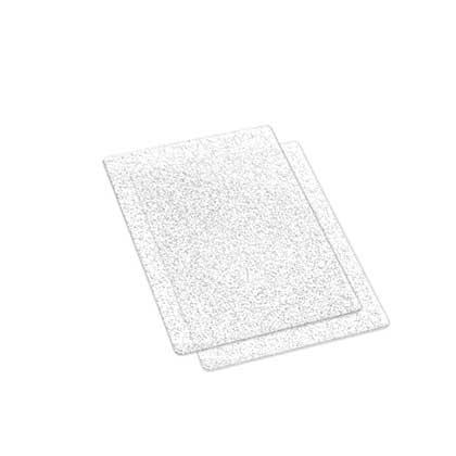 Sizzix Accessories - Silver Glitter Cutting Pads (pair)