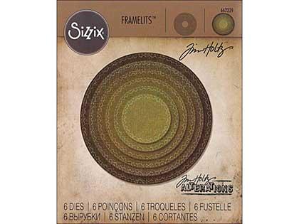 Sizzix Thinlits - Stitched Circles (6pk)