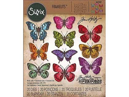 SO: Sizzix Thinlits - Flutter Butterflies (20pk)