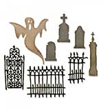 SO: Sizzix Thinlits - Village Graveyard (8pk)