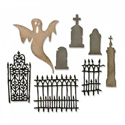 SO: Sizzix Thinlits - Village Graveyard (8pk)