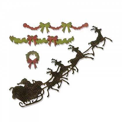 Sizzix Thinlits - Village Christmastime