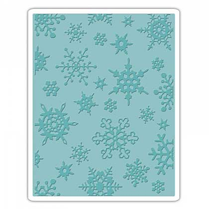SO: Sizzix Texture Fades - Simple Snowflakes