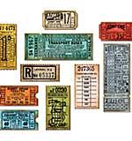 Sizzix Thinlits Dies By Tim Holtz - Ticket Booth Ticket Stubs
