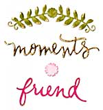 Sizzix Thinlits Dies By Eileen Hull - Floral Arch & Words (4pk)