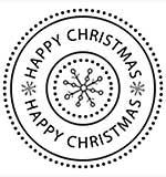 Molly Blooms - Happy Christmas Circle