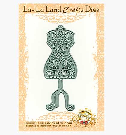 SO: La-La Land Craft Cutting Dies - Dress Form