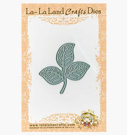 SO: La-La Land Craft Cutting Dies - Open Leaf Flourish