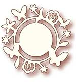 Wild Rose Studio Specialty Die - Flower Circle