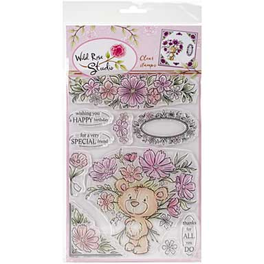 Wild Rose Studio Ltd. Clear Stamp - Milton