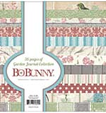 BoBunny - Garden Journal, Single-Sided Paper Pad 6x6 36pk, 12 Designs