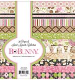 BoBunny Sweet Moments - Paper Pad 6x6 36pk (12 Designs 3 Each, Single-Sided)