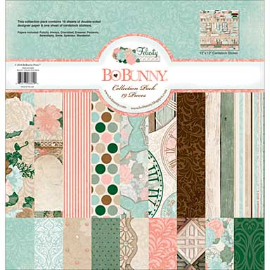 BoBunny Felicity - Collection Pack 12x12